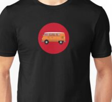 Volkswagen Combi T-Shirt Van Fan Club Sticker Unisex T-Shirt
