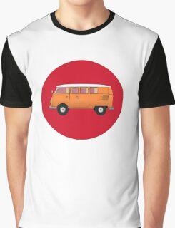 Volkswagen Combi T-Shirt Van Fan Club Sticker Graphic T-Shirt