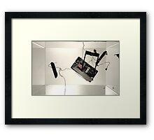 Phone Sculpture 1 Framed Print