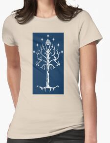 Tree Of Gondor Babydoll Womens Fitted T-Shirt
