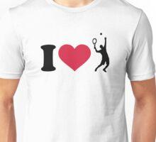 I love tennis player Unisex T-Shirt