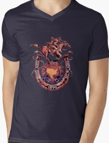 Steel ball run Mens V-Neck T-Shirt