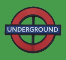 London Underground Sticker - The Tube Sign T-Shirt Kids Tee