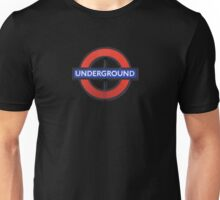London Underground Sticker - The Tube Sign T-Shirt Unisex T-Shirt