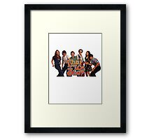 that 70s show Framed Print