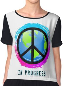 Peace In Progress Chiffon Top