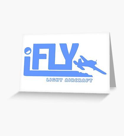 iFLY Light Aircraft Greeting Card