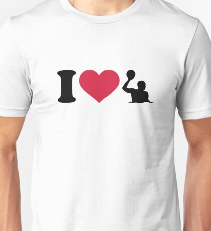 I love Water polo player Unisex T-Shirt