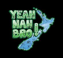 Yeah Nah bro Kiwi New Zealand funny saying by jazzydevil