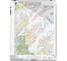 USGS TOPO Map Alaska AK Cordova C-4 355183 2000 63360 iPad Case/Skin
