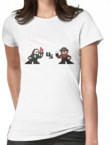 Pixel Nightmare Womens Fitted T-Shirt