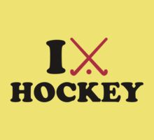I love Field hockey Kids Tee