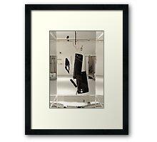 Phone Sculpture 2 Framed Print