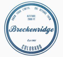 Breckenridge Ski Resort Colorado One Piece - Long Sleeve
