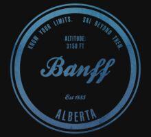 Banff Ski Resort Alberta Kids Tee
