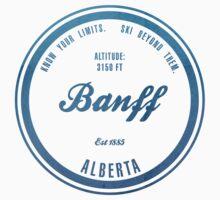 Banff Ski Resort Alberta Baby Tee