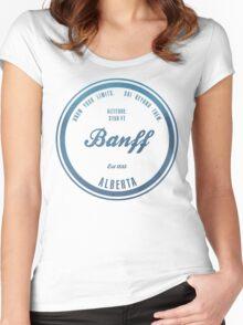 Banff Ski Resort Alberta Women's Fitted Scoop T-Shirt