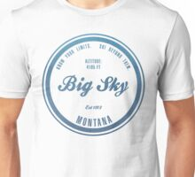 Big Sky Ski Resort Montana Unisex T-Shirt