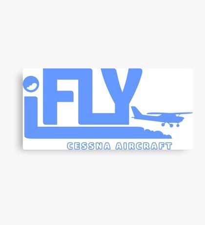 iFLY Cessna Aircraft Canvas Print