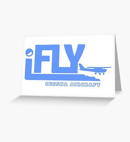 iFLY Cessna Aircraft Greeting Card