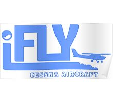 iFLY Cessna Aircraft Poster