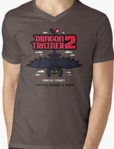 DRAGON TRAINER 2 Mens V-Neck T-Shirt