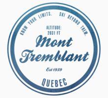 Mont Tremblant Ski Resort Quebec Baby Tee