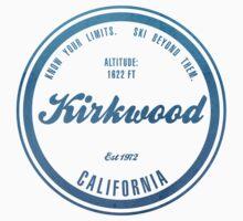 Kirkwood Ski Resort California One Piece - Short Sleeve