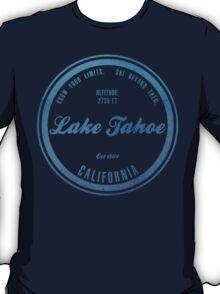 Lake Tahoe Ski Resort California T-Shirt