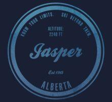Jasper Ski Resort Alberta One Piece - Short Sleeve