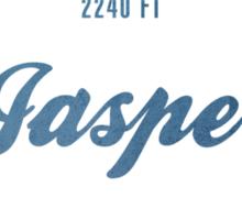 Jasper Ski Resort Alberta Sticker