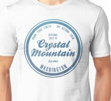 Crystal Mountain Ski Resort Washington Unisex T-Shirt