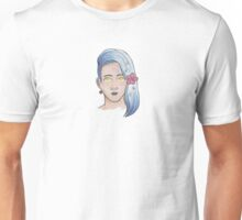 Person with flowers in their hair Unisex T-Shirt