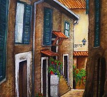 Italian afternoon by Marie Jean Hamilton