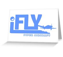iFLY Piper Aircraft Greeting Card