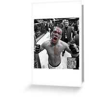 Nate Diaz bjj Greeting Card