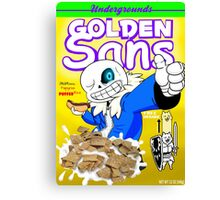 golden sans Canvas Print