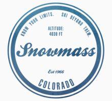Snowmass Ski Resort Colorado One Piece - Long Sleeve