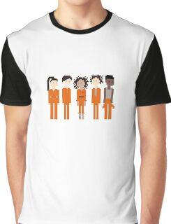 Pixel Asbo 5 Graphic T-Shirt