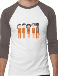 Pixel Asbo 5 Men's Baseball ¾ T-Shirt