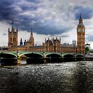 The Palace of Westminster  by larry flewers