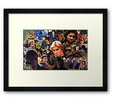 Manly Men For The Manliest  Framed Print