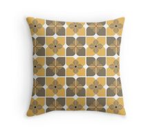 Scandi Floral Throw Pillow