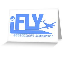 iFLY Beechcraft Aircraft Greeting Card