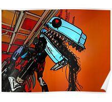 Scrap Godzilla Poster