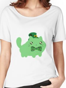 Clover Kitty Women's Relaxed Fit T-Shirt