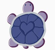 Purple Heart Turtle by SaradaBoru