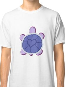 Purple Heart Turtle Classic T-Shirt