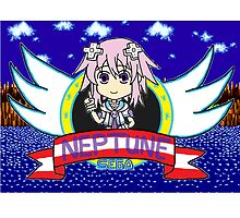 Hyperdimension Neptunia - Neptune X Sonic the Hedgehog  by gaming123456