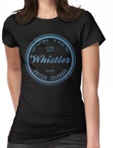 Whistler Ski Resort British Columbia Womens Fitted T-Shirt